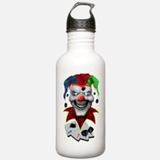 Jester Skull Water Bottle