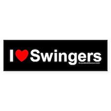 Swingers Car Sticker