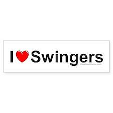 Swingers Bumper Sticker