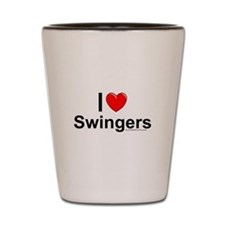 Swingers Shot Glass