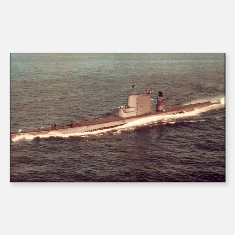 uss raton agss large framed pr Decal