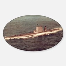 uss raton agss large framed print Decal