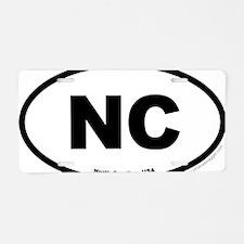 North Carolina USA North Ca Aluminum License Plate