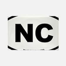 North Carolina USA North Carolina Rectangle Magnet