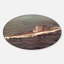 uss raton agss framed panel print Decal