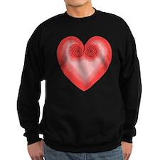 Pink Heart / Love Sweatshirt