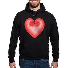 Pink Heart / Love Hoodie