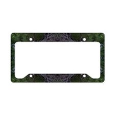 Rivers reflections License Plate Holder