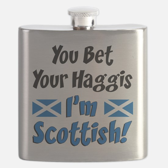 Bet Haggis Im Scottish Flask