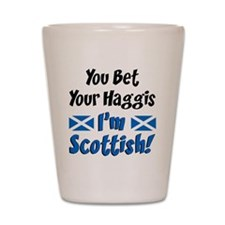 Bet Haggis Im Scottish Shot Glass