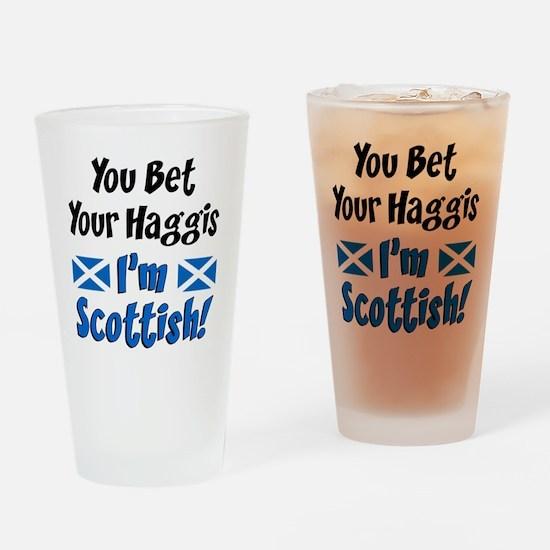 Bet Haggis Im Scottish Drinking Glass
