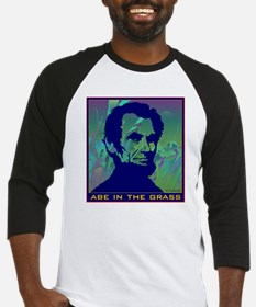 ABE IN THE GRASS Baseball Jersey