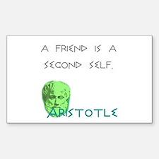 Ari Friend: Rectangle Decal