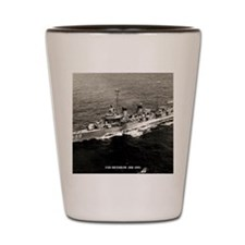 uss renshaw dd framed panel print Shot Glass