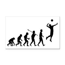 Volleyball2 Rectangle Car Magnet