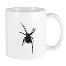 Black Widow No text Mugs