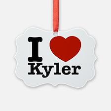 I love Kyler designs Ornament