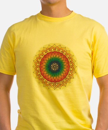 Sunflower Crown Mandala T-Shirt