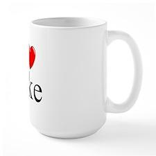 """I Love (Heart) Jake"" Mug"