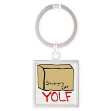 yolf Square Keychain
