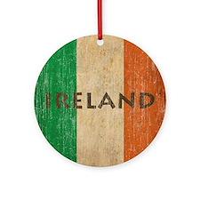 Vintage Ireland Round Ornament