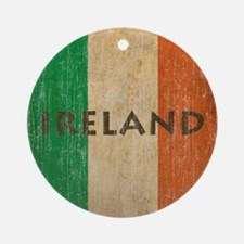Vintage Ireland Round Ornament