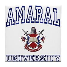 AMARAL University Tile Coaster