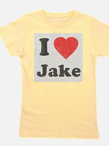 i_love_jake copy Girl's Tee