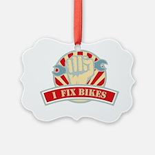I Also Fix Bikes Ornament