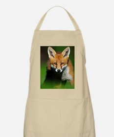 Young red fox Apron