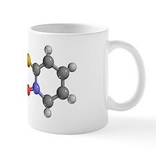 Zinc pyrithione drug molecule Mug