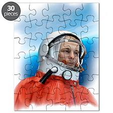Yuri Gagarin, Soviet cosmonaut Puzzle