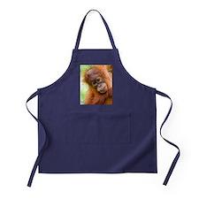 Young Sumatran orangutan Apron (dark)