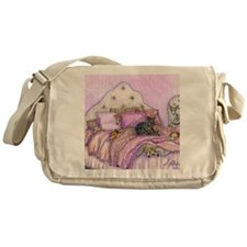 Sighthounds slumber party Messenger Bag