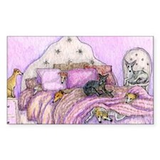 Sighthounds slumber party Bumper Stickers