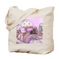 Sighthounds slumber party Tote Bag