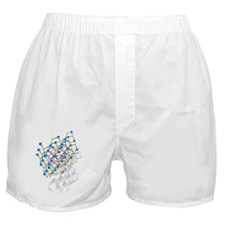 Wurtzite crystal structure Boxer Shorts