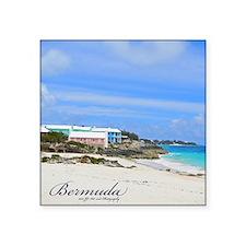 Bermuda St Johns Beach Square Sticker 3&Amp;Quot;