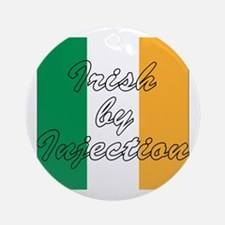 Irish by Injection Ornament (Round)