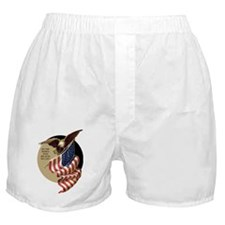 VOTE EAGLE AND FLAG Boxer Shorts
