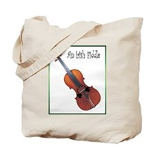 An Irish Fiddle Tote Bag