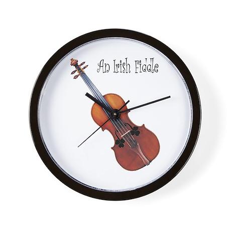 An Irish Fiddle Wall Clock
