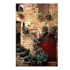 Italian Doorway Postcards (Package of 8)