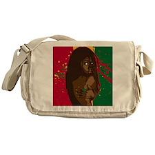 Rasta Girl Messenger Bag