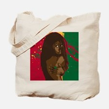 Rasta Girl Tote Bag