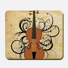 Violin Swirls Mousepad