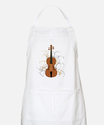 Violin Swirls (for dark colours) Apron
