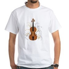 Violin Swirls (for dark colours) Shirt
