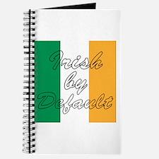 Irish by Default Journal