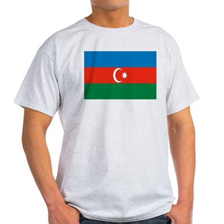 Azerbaijan Flag Light T-Shirt